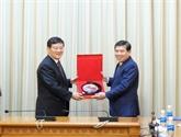 Investissement: promouvoir la coopération avec la Chine