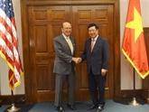 Pham Binh Minh poursuit ses activités aux États-Unis