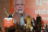 Inde: après son triomphe, Modi prépare son deuxième mandat