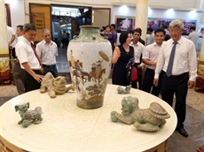 Les arts de la céramique sexposent à Binh Duong