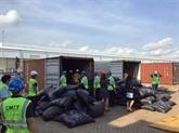 Grosse saisie de plus de 5 tonnes d'écailles de pangolin