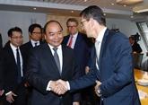 Le Premier ministre vietnamien rencontre des dirigeants de plusieurs groupes norvégiens