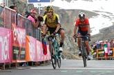 Tour d'Italie:Nibali titille Roglic sur sa passivité