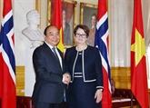 Entrevue entre le Premier ministre vietnamien et la présidente du Parlement norvégien