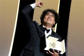 Bong Joon-ho, premier Sud-Coréen à recevoir la Palme d'or