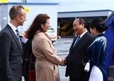 Le PM Nguyên Xuân Phuc entame sa visite officielle en Suède