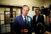 Européennes: le Parti du Brexit en tête avec 31,5%