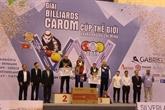 Coupe du monde de billard de carom trois bandes: la Belgique sacrée championne