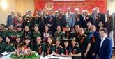 Le IIe congrès de l'Association des anciens combattants du Vietnam en Ukraine