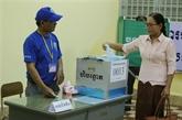 Cambodge: plus de 99% des électeurs ont participé à l'élection des conseils locaux