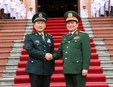 Vietnam - Chine : entretien entre les ministres de la Défense