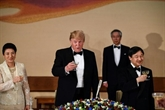 Face à la Chine, Trump affirme la puissance