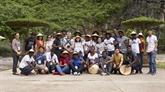 Visite des étudiants francophones de l'IFI à Ninh Binh