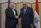 Entretien téléphonique entre les chefs de la diplomatie égyptien et américain