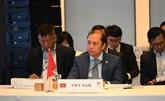 Le Vietnam soutient la mise en œuvre des priorités de l'ASEAN