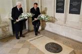 Léonard de Vinci: Macron et Mattarella célèbrent l'amitié franco-italienne