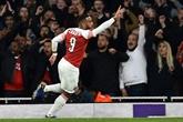 Ligue Europa: Arsenal met un pied en finale grâce à Lacazette et Aubameyang