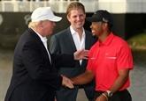 Donald Trump décorera Tiger Woods à la Maison Blanche