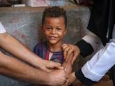 L'UNICEF a vacciné plus de 34 millions d'enfants depuis début 2019