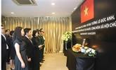 La cérémonie funéraire de l'ancien président Lê Duc Anh à l'étranger