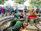 Des restes de 26 soldats vietnamiens tombés au Laos rapatriés