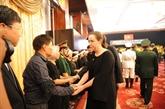 Plus d'un millier de délégations ont rendu hommage à l'ancien président Lê Duc Anh