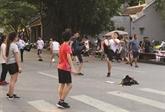 Jeux populaires au cœur de Hanoï