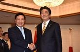 Le vice-PM Pham Binh Minh rencontre des dirigeants japonais et laotiens à Tokyo