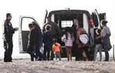 Plus d'un millier de clandestins interpellés à la frontière mexicaine