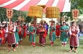 Un rituel séculaire du festival Doan Ngo reconstitué à Hanoï