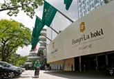 Ouverture du 18e Dialogue Shangri-La à Singapour 
