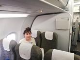Doàn Thi Huong retourne au Vietnam en avion