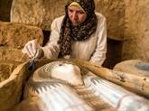 Égypte: découverte d'un cimetière de l'Ancien Empire à Guizeh