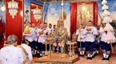 Nguyên Phu Trong félicite le roi de Thaïlande pour son couronnement