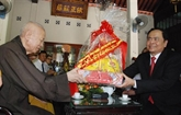 Naissance de Bouddha: vœux duprésident du FPV aux bouddhistes de Quang Tri