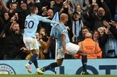 Angleterre: Kompany place City à une victoire d'un nouveau sacre