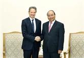 Nguyên Xuân Phuc apprécie l'investissement de Warburg Pincus au Vietnam