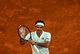 Madrid: après 1.090 jours d'attente, Federer atterrit en 52 minutes