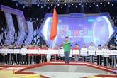 Coup d'envoi du tour final du concours de robots Vietnam 2019