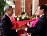 Vietnam et Chine resserrent leur coopération décentralisée