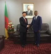L'envoyé spécial du Premier ministre Nguyên Xuân Phuc au Cameroun