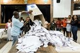ANC en tête des législatives selon des résultats partiels