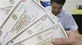 Obligations gouvernementales: 786 milliards de dôngs mobilisés