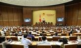 Débat sur le développement socio-économique et des projets de loi