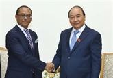 Le Premier ministre accueille le chef de la diplomatie du Timor-Leste