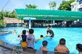 Que font les enfants en été?