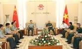 Les armées vietnamiennes et chinoises renforcent leur coopération