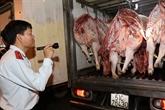 Hô Chi Minh-Ville: attention aux importations de porcs suspectes