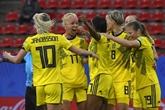 Mondial-2019: succès laborieux et pluvieux pour les Suédoises contre le Chili