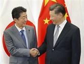 ShinzoAbe dit ravi de rencontrer le président chinois au Sommet du G20